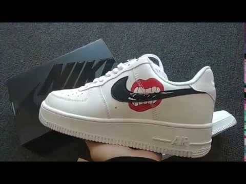 Customized Air Force 1 Lips