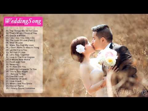 Greatest Hits Wedding Songs