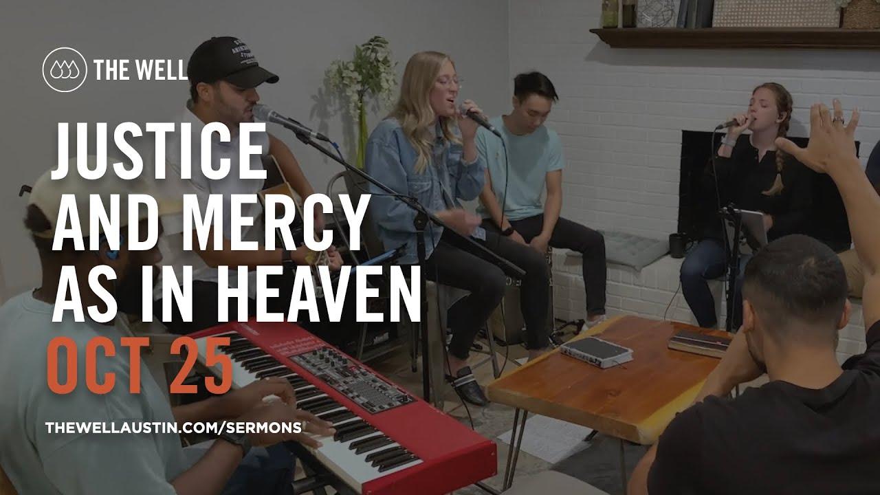 Justice & Mercy - Politics