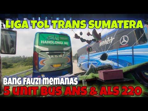 JOSS‼️BUS ALS 220 Vs Bus ANS 5 Unit    Jumpa ALS 378 Di Rest Area KM 87