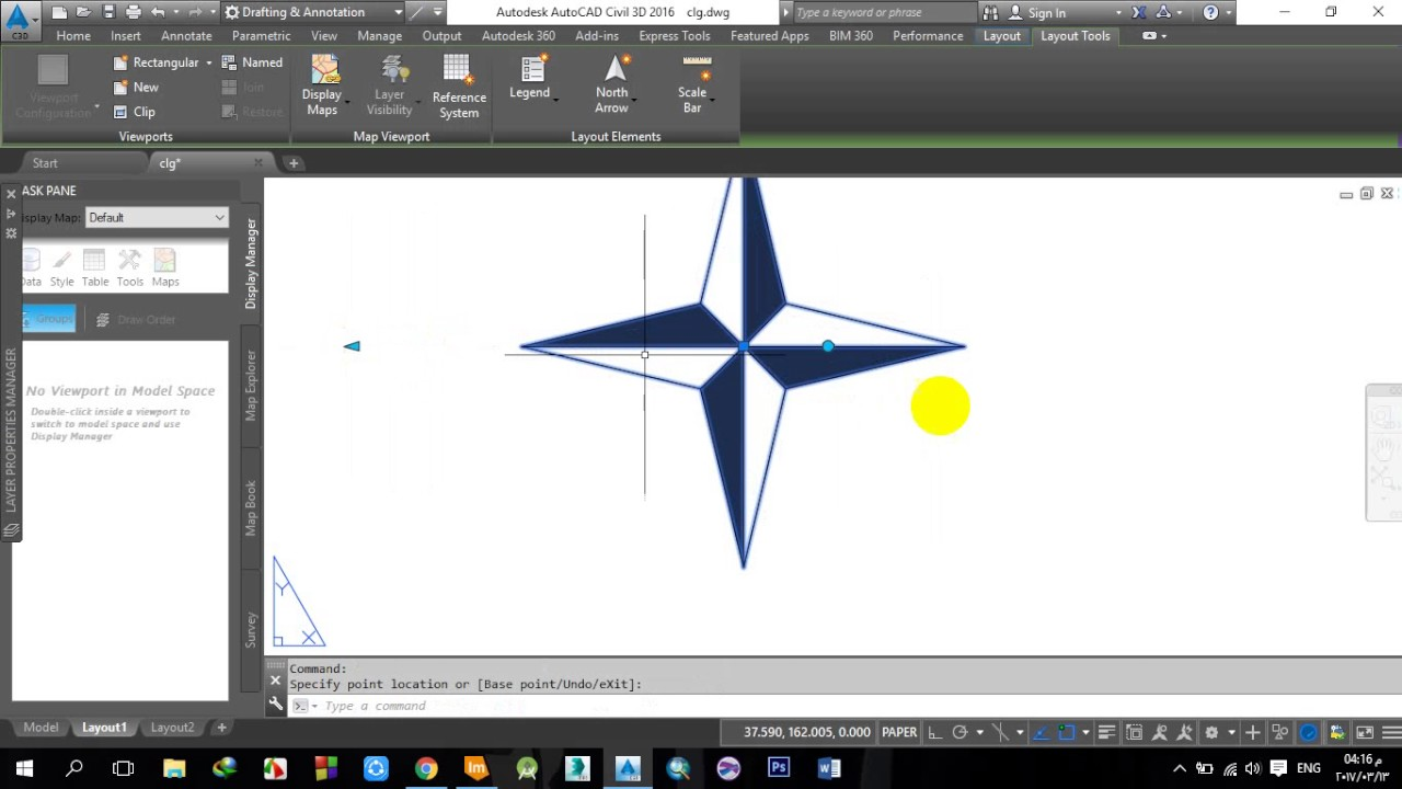 9 north arrow scale bar and legend autocad 2d