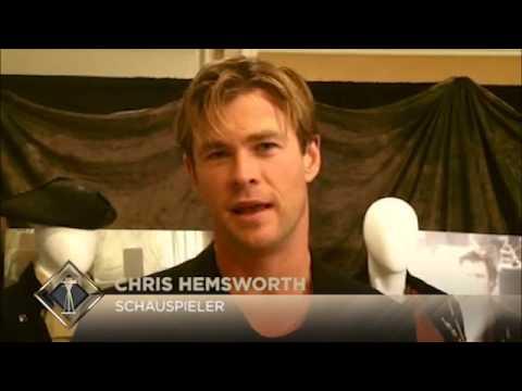 Chris Hemsworth grüßt seine deutschen Fans