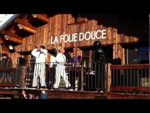Darth Vader at La Folie Douce / Val Thorens