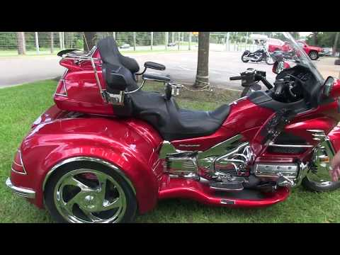 2014 Honda GoldWing with California Sidecar Trike Kit for sale in Florida