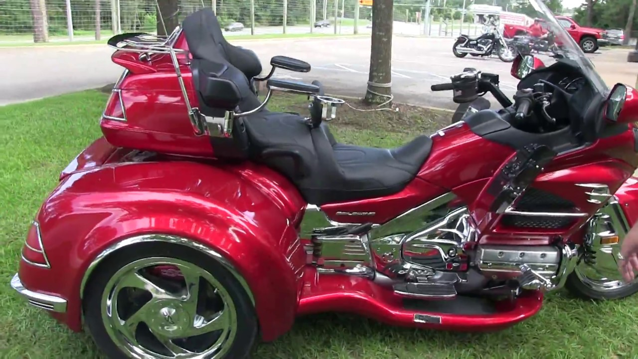 2014 honda goldwing with california sidecar trike kit for sale in florida youtube. Black Bedroom Furniture Sets. Home Design Ideas