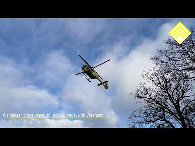 Wandelaar omgekomen bij ernstig ongeval in Weerselo