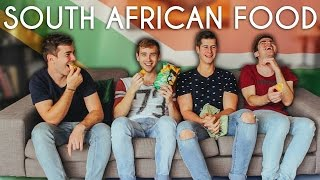 Trying south african food