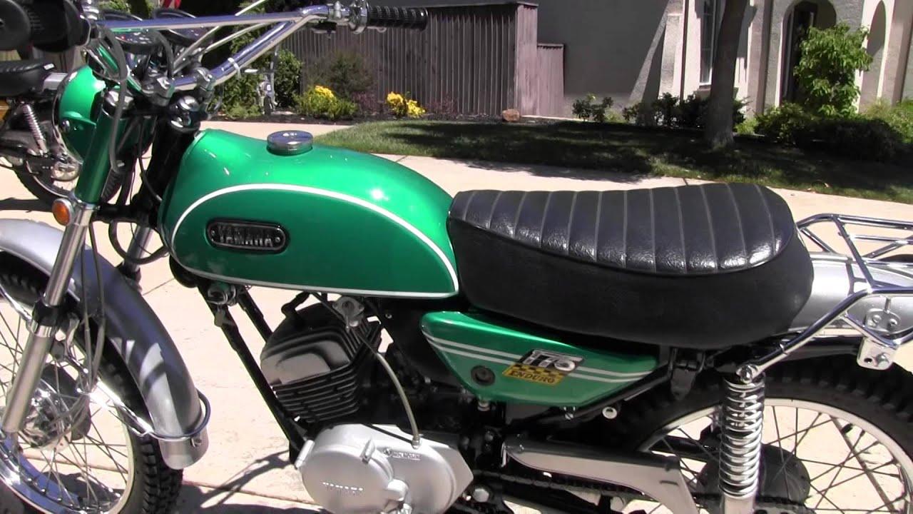 1970 Yamaha 175 Enduro Ct1-b