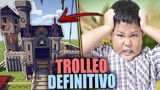 TROLLEO DEFINITIVO A BLUE WARRIORS | TROLLEOS EN MINECRAFT #141