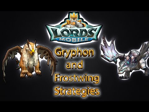 Lords Mobile BEST STRATEGY FOR KILLING GRYPHON And FROSTWING DRAGON