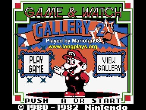 Game & Watch Gallery 2 (GBC) - 50 Stars Longplay