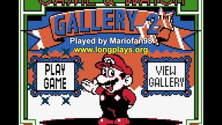 Game & Watch Gallery 2 (GBC) - 50 Stars Longplay