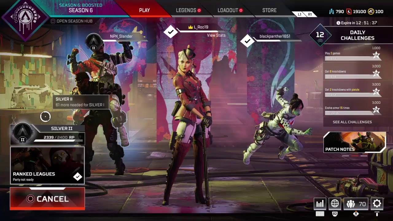 Apex Legends Ranked and pubs