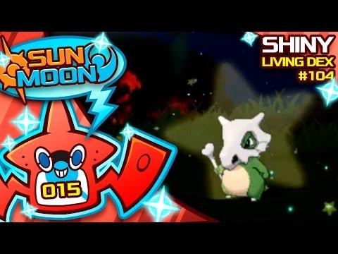 EPIC SHINY CUBONE REACTION!! Quest For Shiny Living Dex #104 | Pokemon Sun and Moon Shiny #15