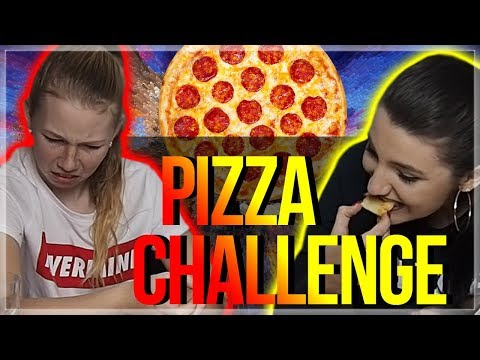 PIZZA CHALLENGE se sestrou | Veronika Spurna