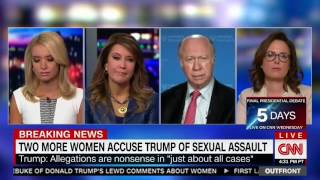 CNN panel goes off the rails when Kayleigh McEnany argues Clinton's are fair game but Trum