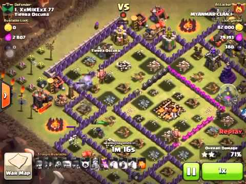 Clash of Clans Myanmar Clan 1