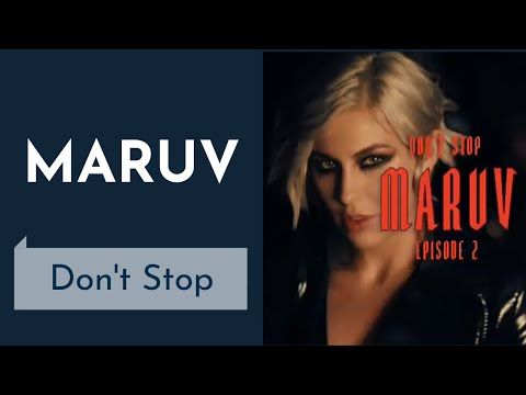 MARUV - Don't Stop (Instrumental караоке) - Hellcat Story Episode 2