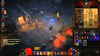 Vidéo-gameplay : Diablo III (PC) - Le roi Squellette