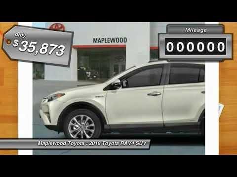 2018 Toyota RAV4 Hybrid Limited Maplewood, St Paul, Minneapolis, Brooklyn Park, MN J10295