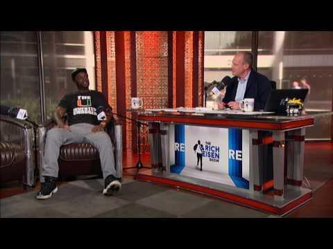NFL Network Analyst Reggie Wayne on How His Pet Snake Died - 9/27/16