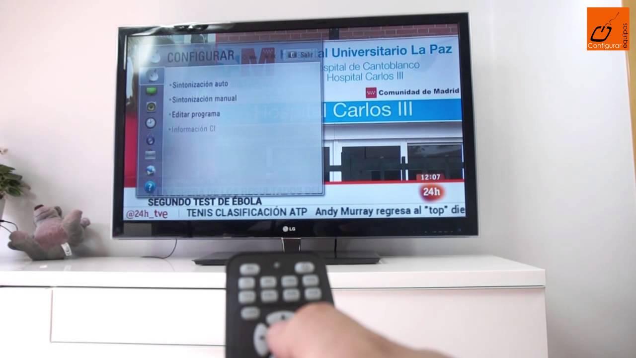 C U00f3mo Resintonizar Los Canales De La Tdt En La Televisi U00f3n