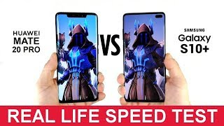 Samsung Galaxy S10 Plus vs Huawei Mate 20 Pro - Real Life Speed Test! [Big Difference?]
