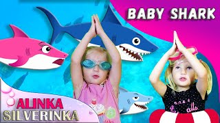 Baby Song   Little Shark Nursery Rhymes  Animal Songs from Alinka Silverinka and Kid Shark