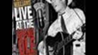 NOBODY'S LONESOME FOR ME  by  HANK WILLIAMS - { Opry }