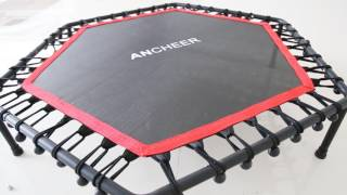 ANCHEER T-shaped Trampoline Installation