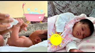 NEW BORN BABY MORNING ROUTINE + MINI VLOG