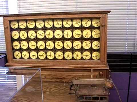 1889 Herman Hollerith Census Machine by TMC which became IBM