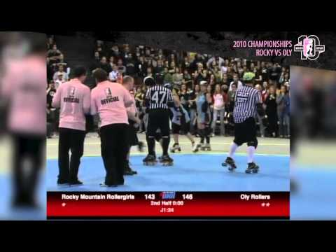 WFTDA Championships Throwback: 2010 Rocky Mountain vs Oly