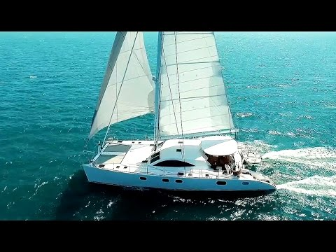 Wow! Exquisite Catamaran LAYSAN for Charter & Sale