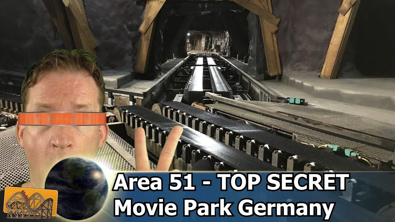 Download Area 51 – Top Secret Movie Park Germany   Funfair Blog #190 [HD]