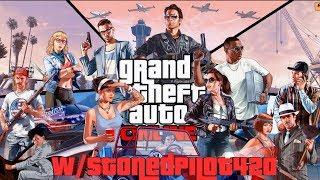 GTA V Online LVL 545+ LEGIT PLAYER! Terrorbyte & MC Restock Missions, Races & Freemode Gameplay!