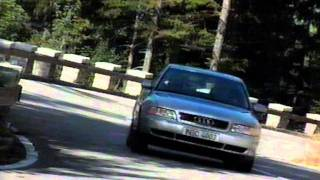 Audi A4 1st generation 1994 - 2001 (B5) old TV commercial / Werbung / reklama (ca 1995)