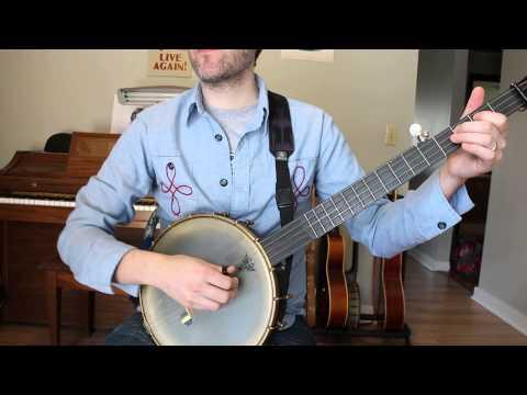 Little Maggie- Old Time 2 Finger Banjo Tutorial