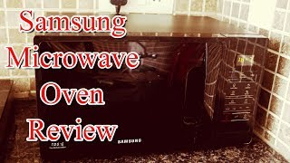 Samsung mMW73ad-b/xtl 20L Solo Microwave Oven Review