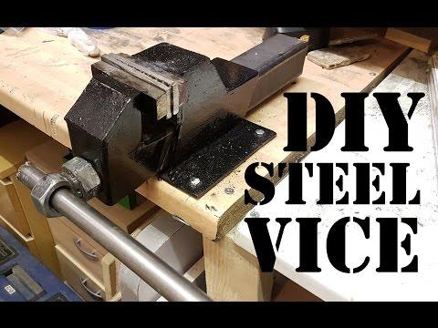 Making a Heavy Duty Steel Bench Vice