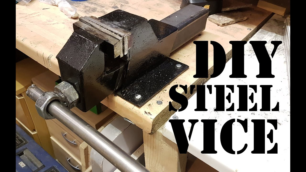 Making A Heavy Duty Steel Bench Vice