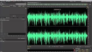 Como ajustar um áudio a -23 LUFS para TV Digital com Adobe Audition CC