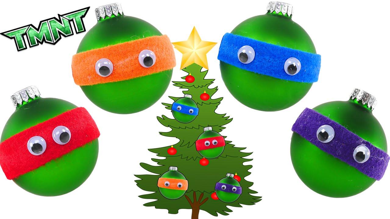 TMNT Holiday Crafts - - - How to make Teenage Mutant Ninja Turtles ...