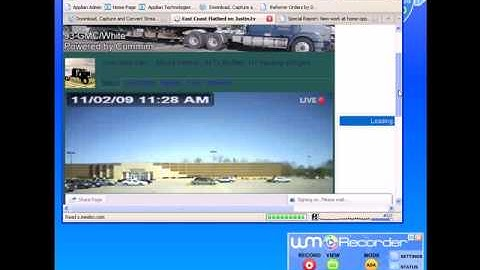 How to Record/Download/Save/Rip/Capture Live Webcam/Chat Sites Using WM Recorder