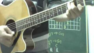 民謠吉他(教學影片)-第12課-張懸-寶貝-彈奏概述示範