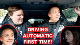 DRIVING AUTOMATIC CAR FOR THE FIRST TIME
