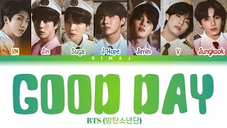 Download [BTS] 'Good Day' Color Coded Lyrics Kan/Rom/Eng