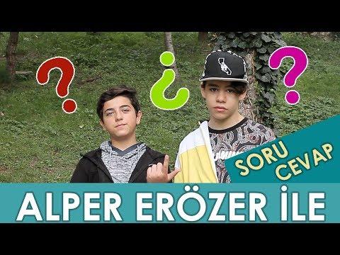 ALPER ERÖZER'İN SEVGİLİSİ VAR MI? - Alper Erözer ile Sorularınızı Cevapladık! | Berat Efe Parlar
