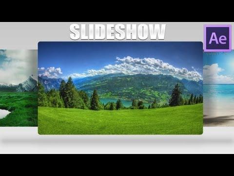 Tutorial After Effects Cs6-Prezentare Imagini || SlideShow