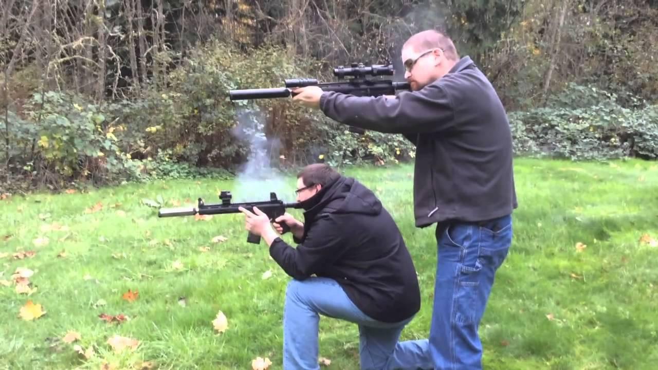 Homemade  30 cal SD Tactical Suppressor Test